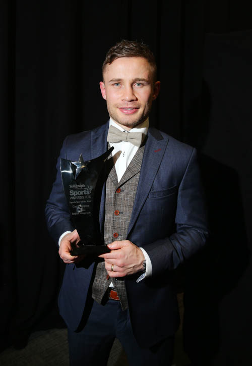 Carl Frampton a previous winner of the Sports Awards.