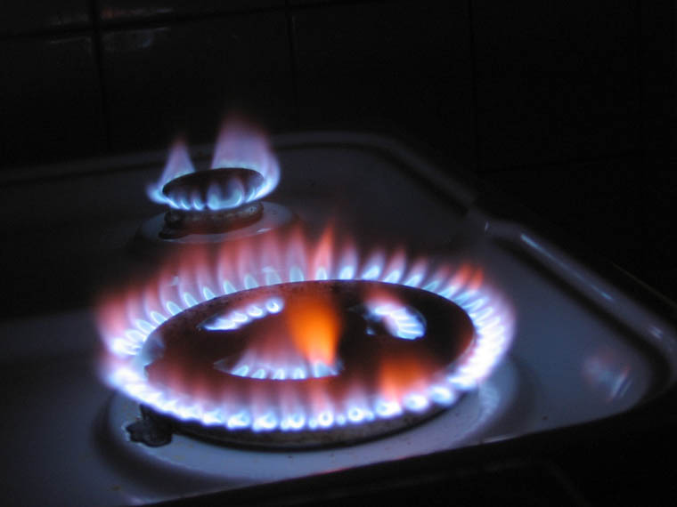 Gas Cooker Stock image. Photograph: ben merghart/ Freeimages.com