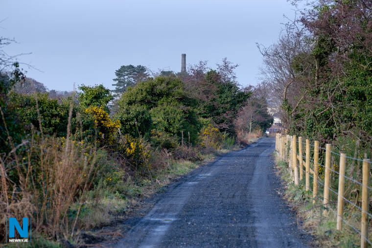 A section of the new unopened Greenway just outside Newry. Photograph: Columba O'Hare/ Newry.ie