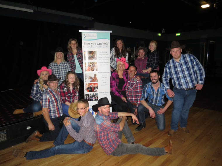 Pictured are the dancers who will take part in 'Strictly Goes Country' at Armagh City Hotel on Saturday 11th November 2017 to raise funds for Southern Area Hospice Services.