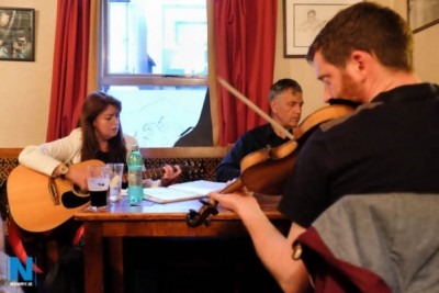 Railway Bar Trad Session