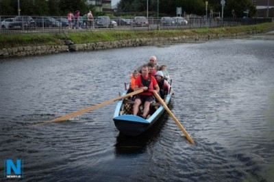 Free Currach Trips on Newry Canal and Trad Session