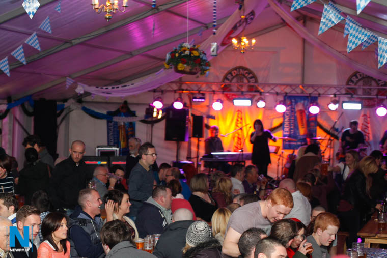 The first Newry Oktoberfest in 2012. Photograph: Columba O'Hare