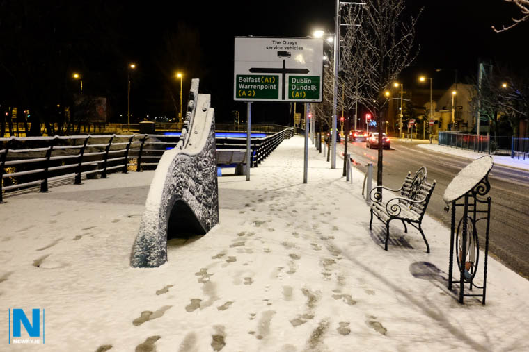 Weather warnings have been issued for snow and ice for Counties Armagh and Down. Photograph: Columba O'Hare/ www.newry.ie