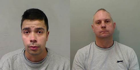 The PSNI are appealing for information on the whereabouts of Alexis Guesto, left and James White.