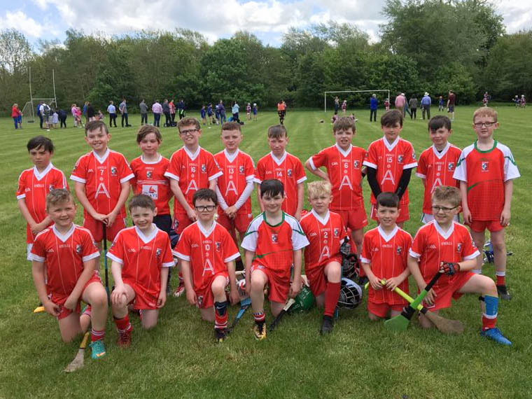 These young Craobh Rua hurlers had a great mornings hurling at the most recent Hurling Blitz in Lurgan