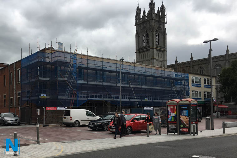 First Derivatives new offices at Hill Street in Newry will form part of their expansion plans which will see 1000 new jobs in the next three years. Photograph: Columba O'Hare/ Newry.ie