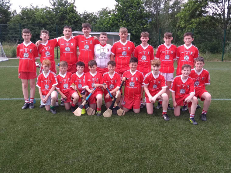 The Craobh Rua Under 14 team who finished runners up in the recent Ulster GAA Féile Blitz