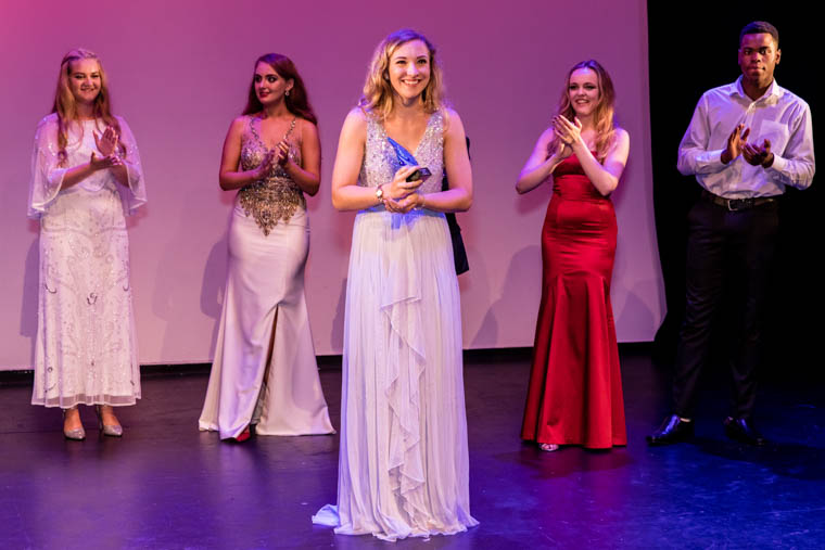 Amber Leigh Dixon wins The Soloist 2018. Photograph: Anamaria Meiu