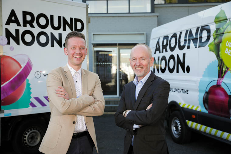 Around Noon CEO, Gareth Chambers, and Chairman Howard Farquhar