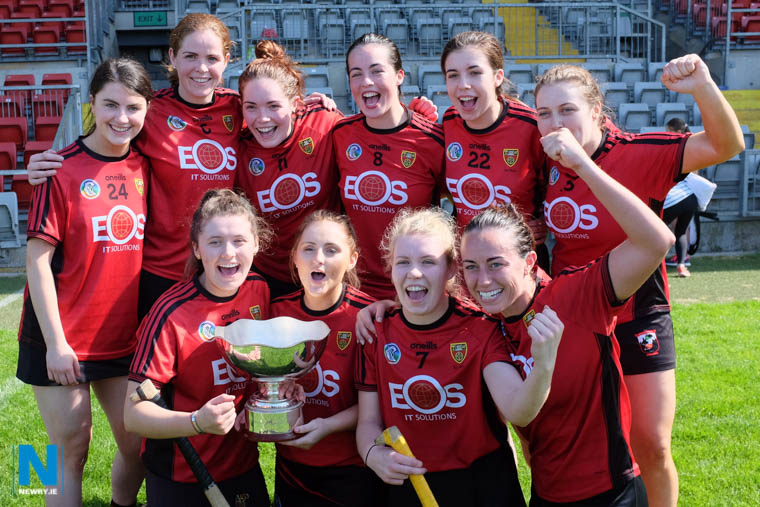 The Down team who won the NWP Recycling 2018 Ulster Camogie Senior Championship Final earlier this year. Photograph: Columba O'Hare/ Newry.ie