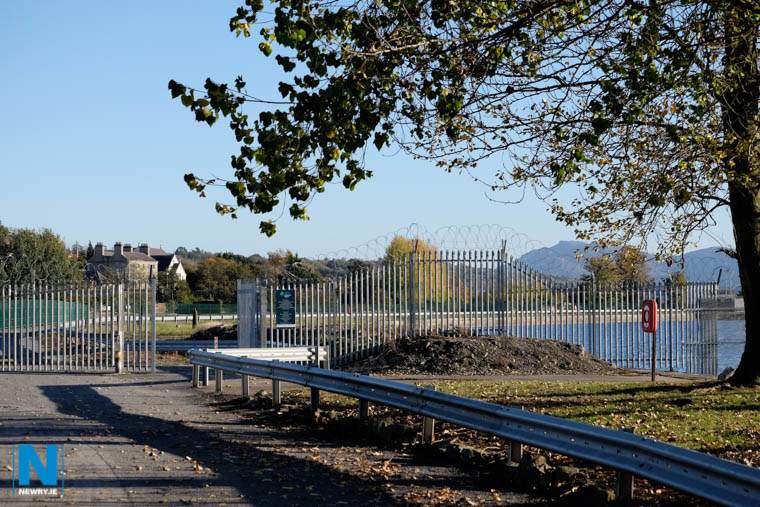 The entrance to the Albert Basin at present. Photograph: Columba O'Hare/ Newry.ie