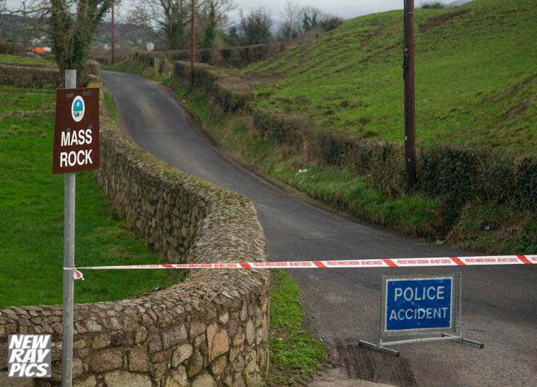 A section of Commons School Road and Bettys Hill Road has been closed following the discovery of a suspicious object in the area