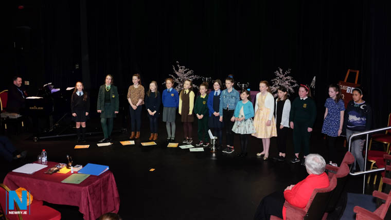 Competitors in the Girls Solo Under 12 category at Newry Feis. Photograph: Columba O'Hare/ Newry.ie