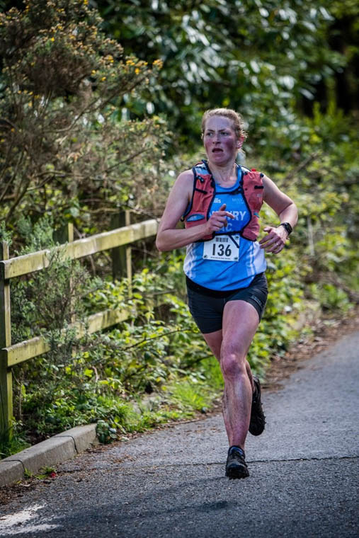 Esther Dickson on the return section of the Donard Race on Saturday