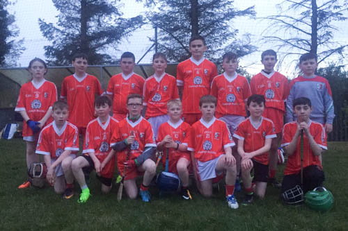 Craobh Rua Under 13 Táin Óg League team who recently played Castleblaney