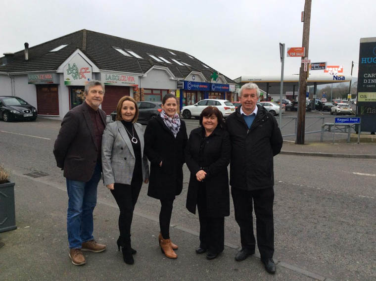 Mickey Brady MP, Cllr Roisin Mulgrew, Oonagh Magennis, Liz Madden & Michael Doran pictured prior to the Firmus Meeting