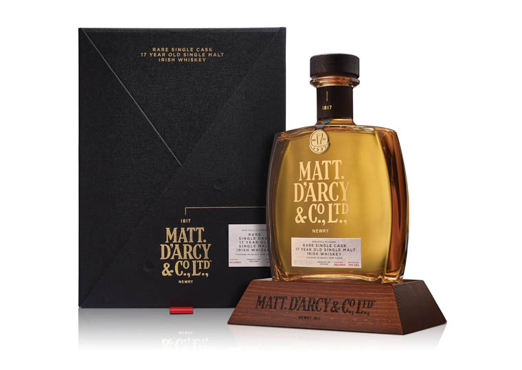 Matt D'Arcy 17-yr-old single malt