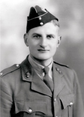 Major Gerald Reside, a Newry architect, was supposedly one of the last soldiers rescued at Dunkirk. Major Reside never spoke of his wartime service or experiences.  Courtesy of Fergus Hanna Bell
