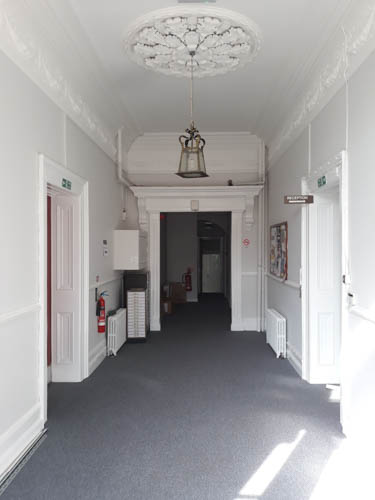 The interior of Ivybrook House.