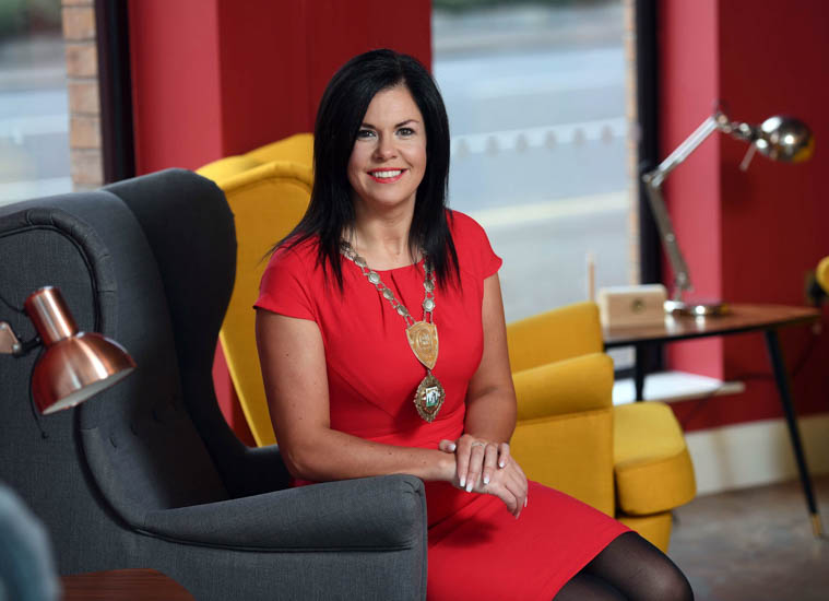 Emma Marmion the new President of Newry Chamber of Commerce and Trade