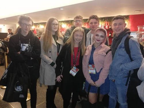 SRC Students at Belfast Media Festival.