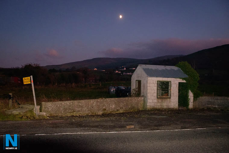 The border at Carrickarnon. Photograph: Columba O'Hare/ Newry.ie