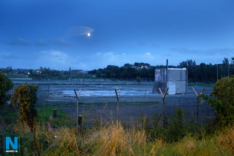 The site of the proposed development at Carnbane Way. Photograph: Columba O'Hare/ Newry.ie