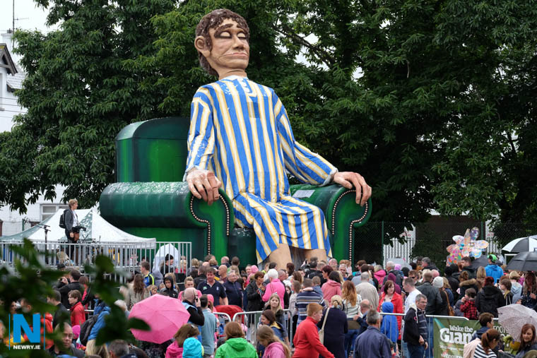 Wake the Giant Festival is to be the centrepiece of an extended outdoor arts festival. Photograph: Columba O'Hare/ Newry.ie