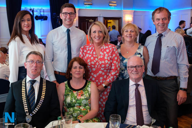 Enjoying the night out at the  Greater Newry Business Awards. Photograph: Columba O'Hare/ Newry.ie