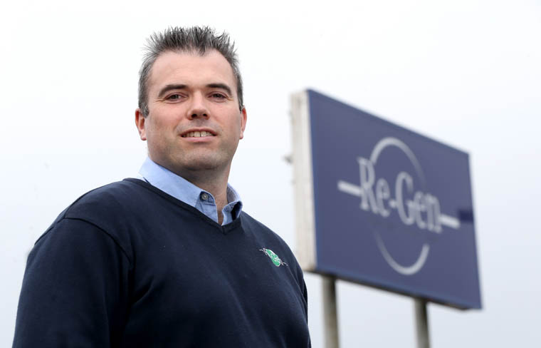 Joseph Doherty, Managing Director of Re-Gen Waste