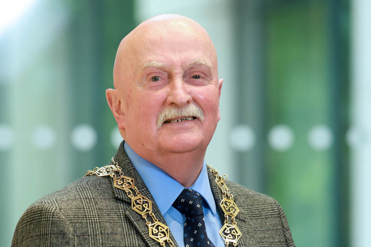 Cllr Charlie Casey, Chairperson, Newry, Mourne and Down District Council.