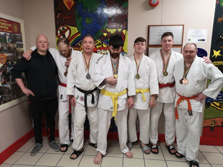 North West Competition. From left: James Campbell, Dan Cambell, Dermot MCCaul, John McKinney, Conor Yendall, Rory Hillen, Nigel O'Neill.