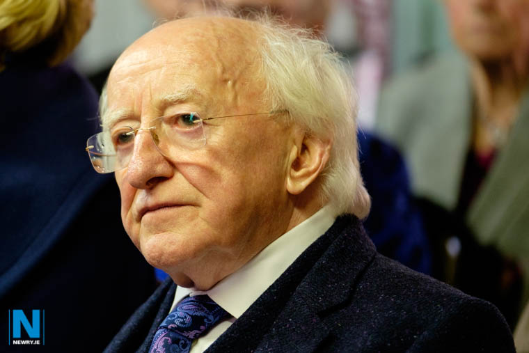 Newry voters could have a chance to vote on the successor to President Higgins if proposed amendment to Irish Constitution is passed. Photograph: Columba O'Hare/ Newry.ie