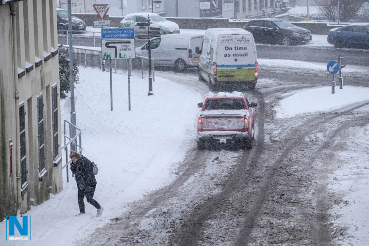 Additional money has been set aside for winter services including gritting. Photograph: Columba O'Hare/ Newry.ie