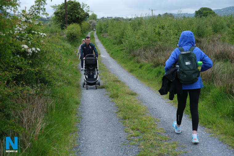 One of the walks at Bluebell during an open day in 2019. Photograph: Columba O'Hare/ Newry.ie