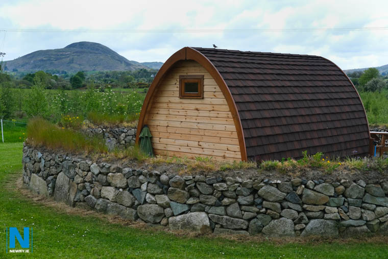 Bluebell Lane Glamping, Mullaghbawn is just one of the destinations locally perfect for a staycation. Photograph: Columba O'Hare/ Newry.ie