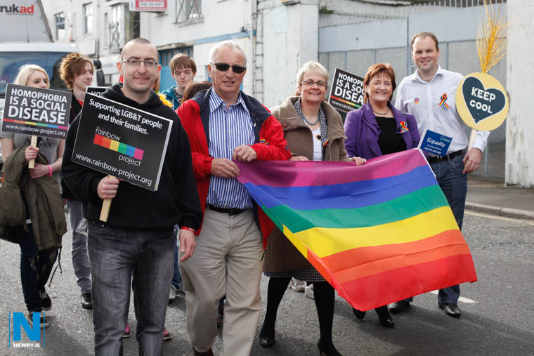 Pictured at Pride in Newry in 2012. Photograph: Columba O'Hare/ Newry.ie