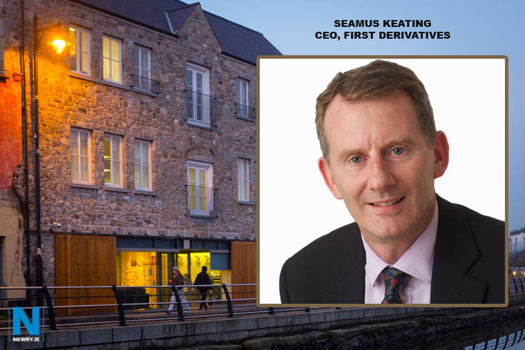 Seamus Keating has been appointed as Chief Executive Officer of Newry company First Derivatives.