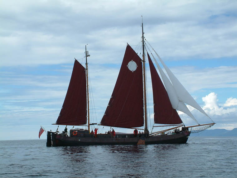 Newry ship Volharding is the vehicle for an adventure of a lifetime for eight local young people.