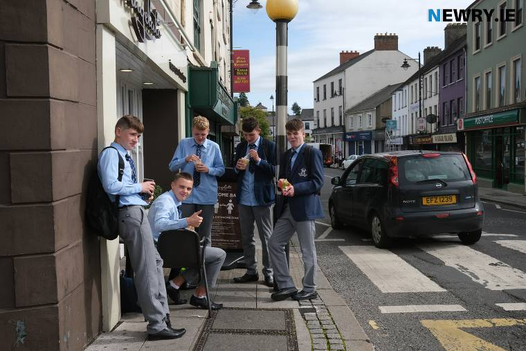 A phased return to school will commence from 8 March. Photograph: Columba O'Hare/ Newry.ie