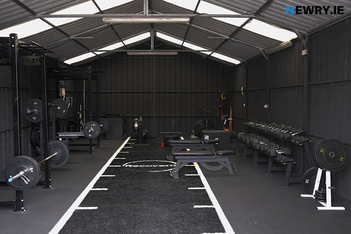 The new H&H Gym at Quarter Road, Camlough. Photograph: Columba O'Hare/ Newry.ie