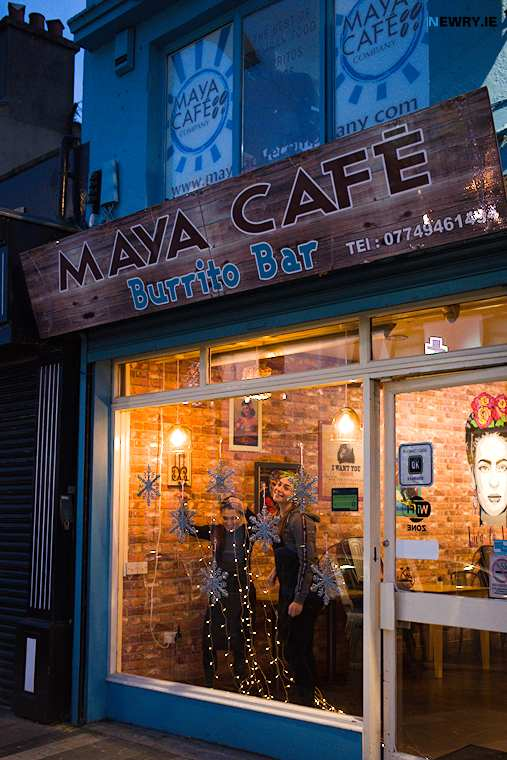 Maya Cafe are one of the local eateries who use Q-Kangaroo. Photograph: Columba O'Hare/ Newry.ie