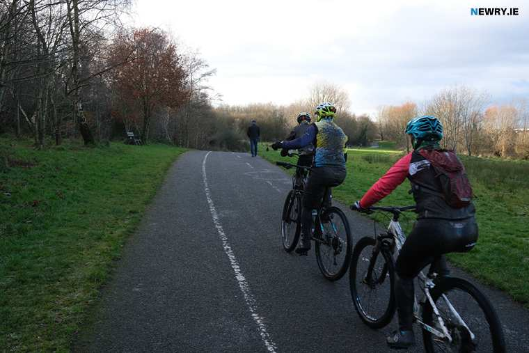 Cycle and walking routes like this one in Craigavon are greatly needed in Newry. Photograph: Columba O'Hare/ Newry.ie