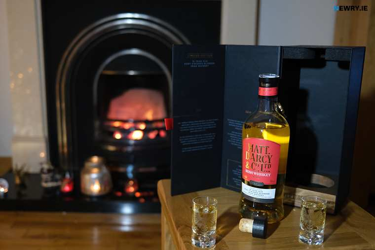 The Matt D'Arcy Ten Year Old Port finished Whiskey. Photograph: Columba O'Hare/ Newry.ie