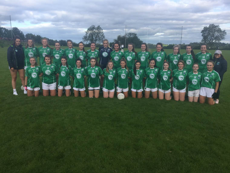 Shane O'Neill's senior ladies who were defeated in the championship semi-final