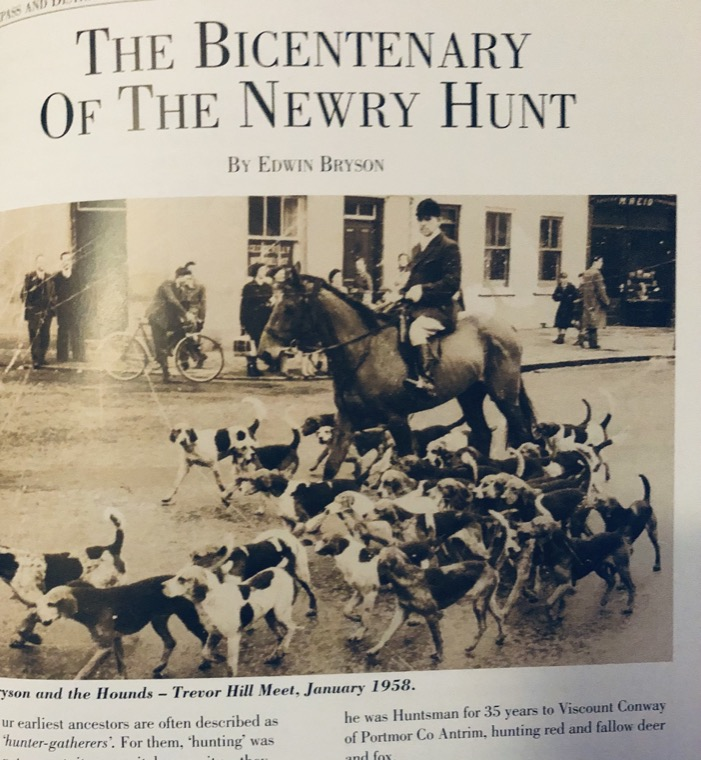 An article from Edwin Bryson on the Bicentenary of the Newry Hunt.