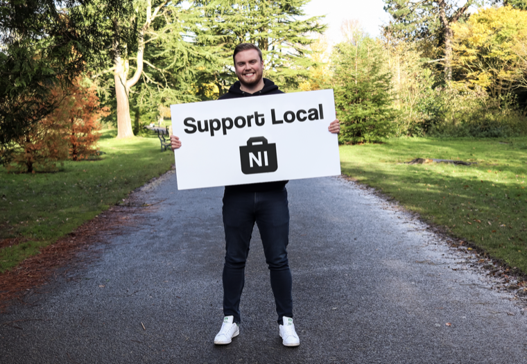 Matt Stevenson, Founder of Support Local NI