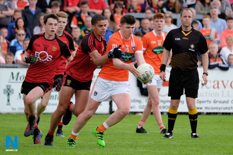 The Ulster Minor Football Championship will be live streamed this year. Photograph: Columba O'Hare/ Newry.ie