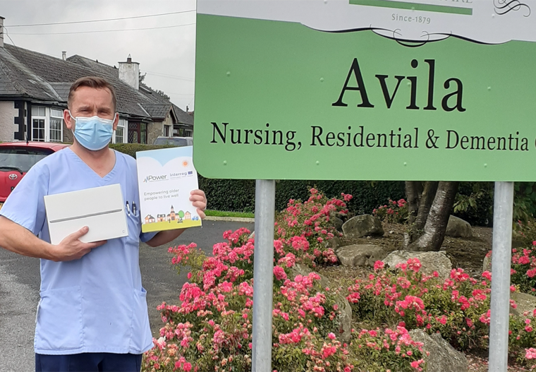 Avila Nursing Home in Bessbrook is using the technology to connect their residents to family.